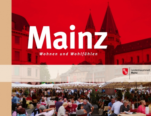 Folder Stadt Mainz für Expo Real