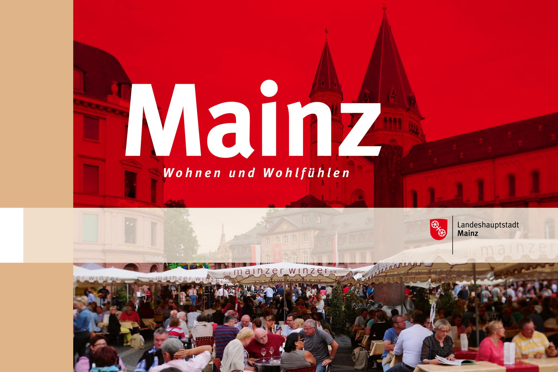 Folder Stadt Mainz für Expo Real