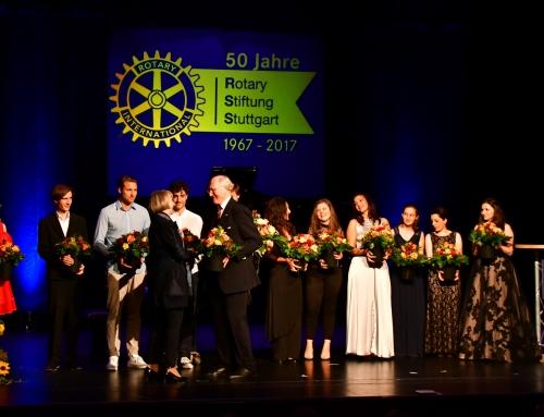 50 Jahre Rotary Stiftung Stuttgart