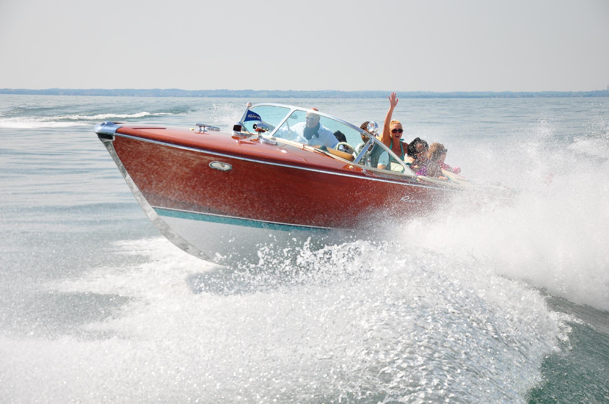 Riva-Race auf dem Garda-See