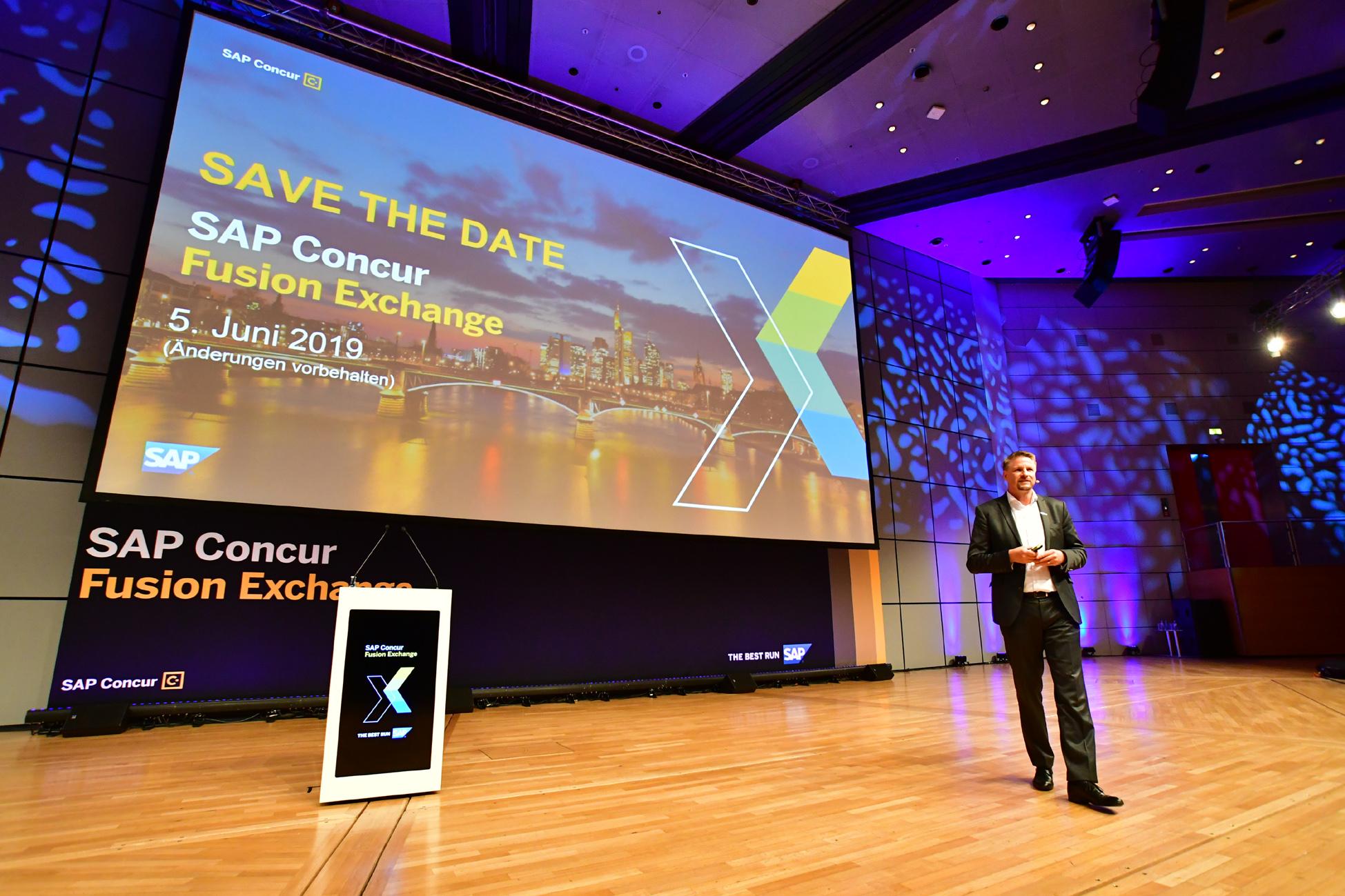 SAP Concur Fusion FX 2018 Frankfurt