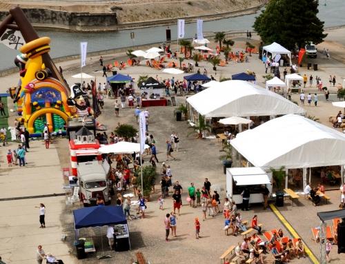 Sommerfest Hafensommer Zollhafen Mainz